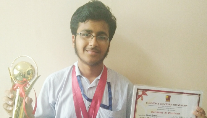 Harshit Aggarwal Of Class XII Won International Commerce Olympiad, 2016