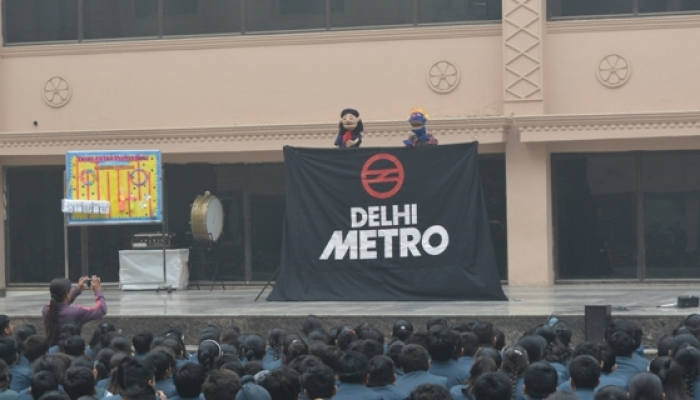 Puppet Show For Students By Delhi Metro