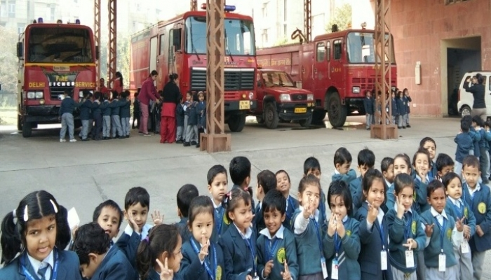 Educational Excursion To Fire Station